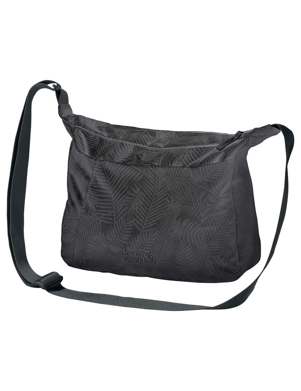 Jack Wolfskin Umh/ängetasche Valparaiso Bag Bolso Bandolera Mujer Talla /única Negro
