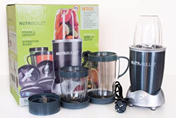 12 VASO PARA BATIDORA PICADORA ELÉCTRICA MAGIC NUTRIBULLET: Amazon.es: Hogar