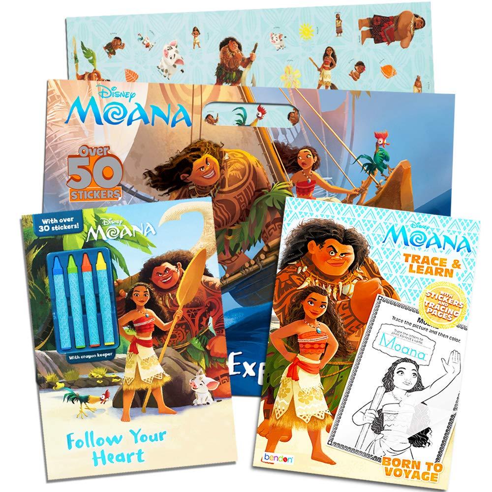 ディズニー モアナ 幼児 ぬりえとアクティビティブック スーパーセット キッズ 幼児 (3 デラックスモアナ 3冊 ステッカー付き Moana クレヨンと絵画用品(パーツセット) Moana Coloring Set (3 Books) Moana Party Supplies Moana Coloring Set (3 Books) B07DCCLJFF, 愛野町:63ee1d66 --- 6530c.xyz