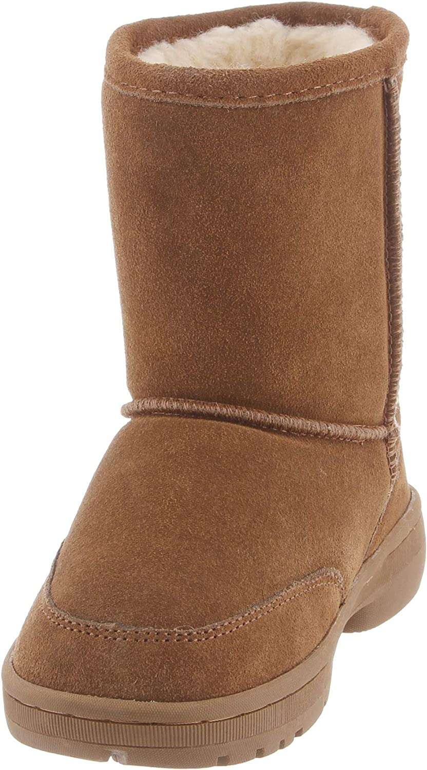 BEARPAW Kids Meadow Youth Mid Calf Boot