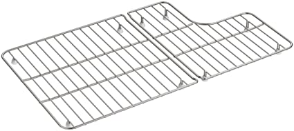 Amazon.com: Kohler k-6449 Whitehaven cuenca rack,, Acero ...