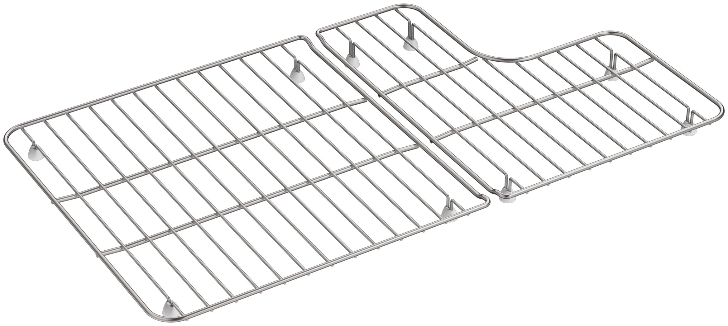 KOHLER 6449-ST Sink Racks for Whitehaven K-5826 and K-5827 Sinks, Stainless Steel