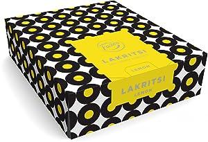 Fazer Lemon lakritsi - Original - Finnish - Filled - Black Licorice - Liquorice - Box - 30 Sticks x 20 g
