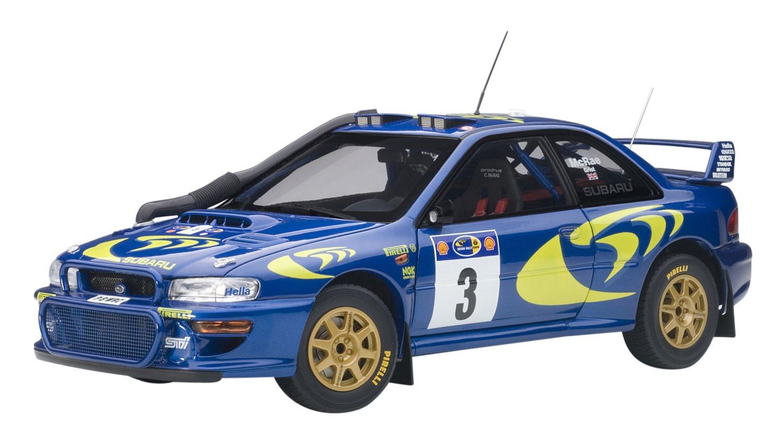 AUTOart – Auto in Miniatura da Collezione, 89792, Blu Metal Giallo