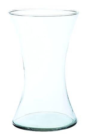Inna Glas Hourglass Vaseglass Vase Liz Made Of Glass Clear 820