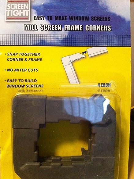 4pk screen frame corners 516 - Window Screen Frame Corners