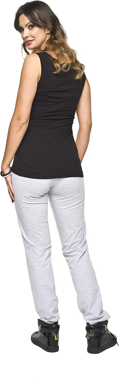 S-XXL Baumwolle Modell: FITNESS Bequeme Schwangerschaftshose Gr