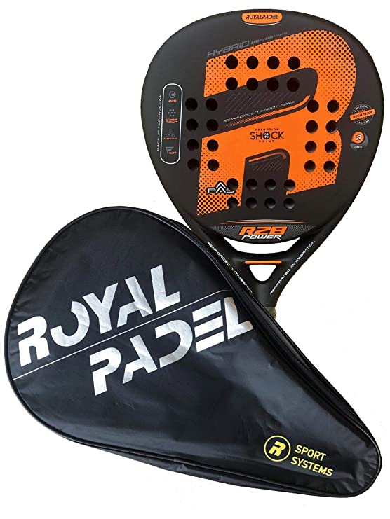 Royal Padel Pala DE Padel R28 Power 2019: Amazon.es: Deportes y aire libre