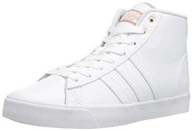 super popular 442b7 05c88 adidas Womens Shoes  Cloudfoam Daily Qt Mid Fashion Sneakers,  WhiteCopper, (