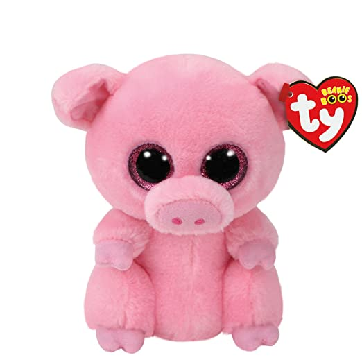 8d59ef7aab9 Image Unavailable. Image not available for. Color  Claire s Ty Beanies  Girl s Ty Beanie Boo Small Posey the Pig Plush Toy