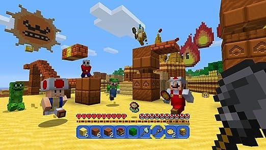 Nintendo Minecraft: Wii U Edition Básico Wii U Francés vídeo - Juego (Wii U, Acción / Aventura, Modo multijugador, E10 + (Everyone 10 +), Soporte físico): Amazon.es: Videojuegos