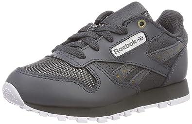 bc3b3309ee0 Reebok Unisex Kids  Classic R Gymnastics Shoes  Amazon.co.uk  Shoes ...
