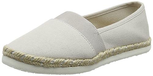 New Look Wide Foot Marley, Alpargatas para Mujer, Gris (Mid Grey 4), 38 EU: Amazon.es: Zapatos y complementos