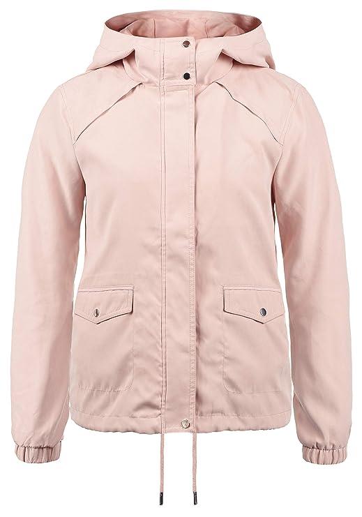 ONLY Urmel Damen Übergangsjacke Jacke Mit Kapuze