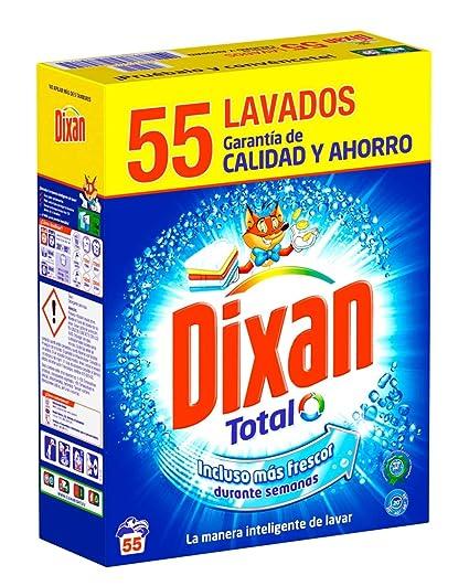 Dixan Detergente en Polvo - 55 lavados (3,25 Kg): Amazon.es ...