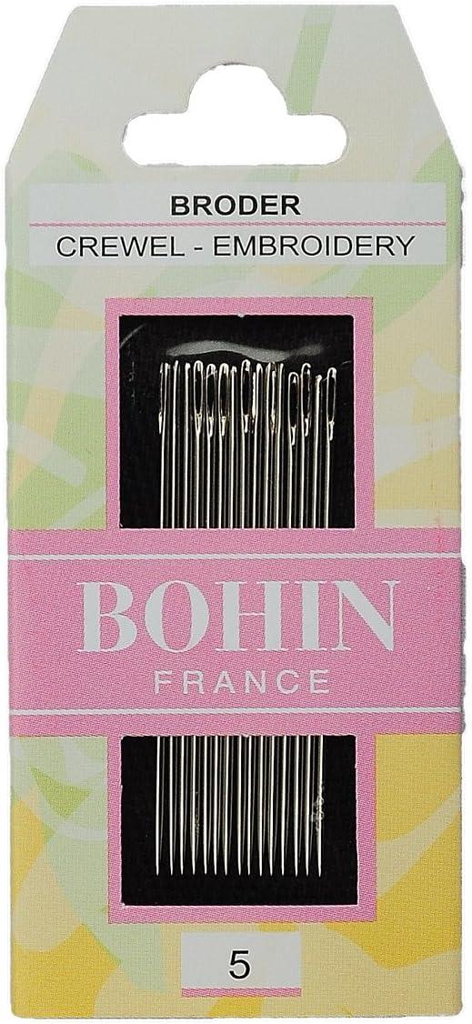 5 Bohin 00714 Embroidery Needles