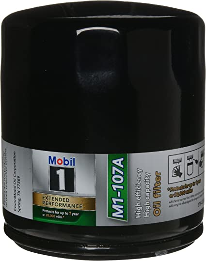 Mobil 1 M1-107A Filtro de aceite de alto rendimiento, pack de 2 ...