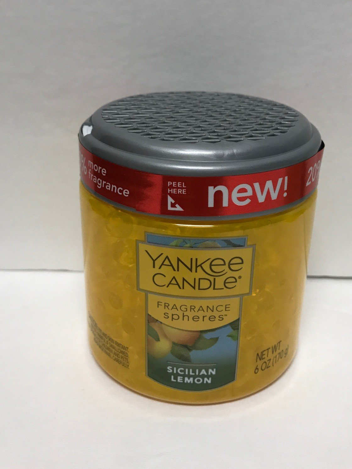Yankee Candle Sicilian Lemon Fragrance Spheres, Fruit Scent
