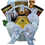 Art of Appreciation Gift Baskets  Best Wishes to You Wedding Gourmet Food Gift Basket, Small (Chocolate)