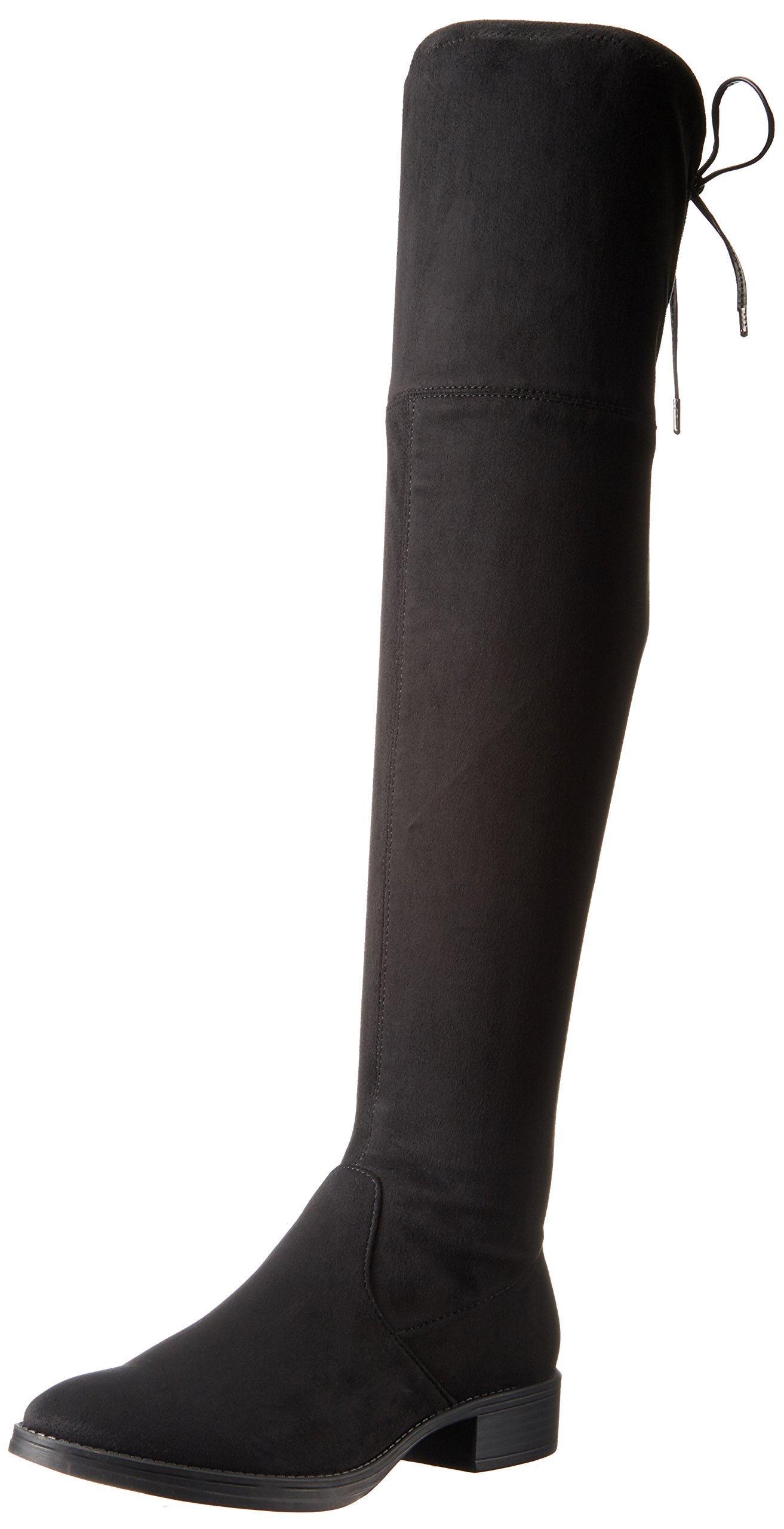 Circus by Sam Edelman Women's Peyton Over The Knee Boot, Black, 6.5 Medium US by Circus by Sam Edelman (Image #1)
