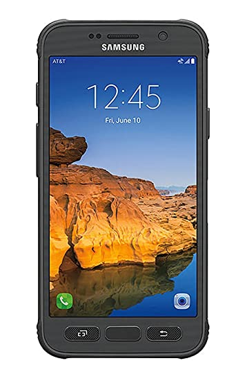 san francisco d3a0d 7615e Samsung Galaxy S7 Active G891A 32GB Unlocked GSM Shatter,Dust and Water  Resistant Smartphone w/ 12MP Camera - Titanium Gray