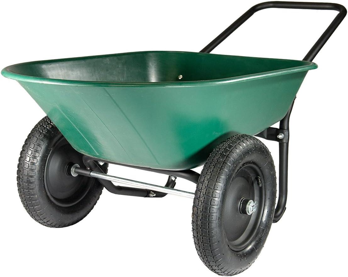 Marathon Yard Rover – 2 Tire Wheelbarrow