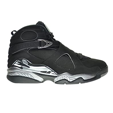 342c26668775 Jordan Air 8 Retro Men s Shoes Black White Lite Graphite 305381-003 (