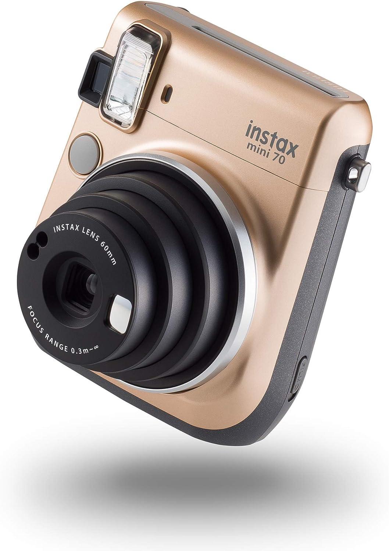 Instax 70100133561 Mini 70 Kamera Mit 10 Aufnahmen Kamera