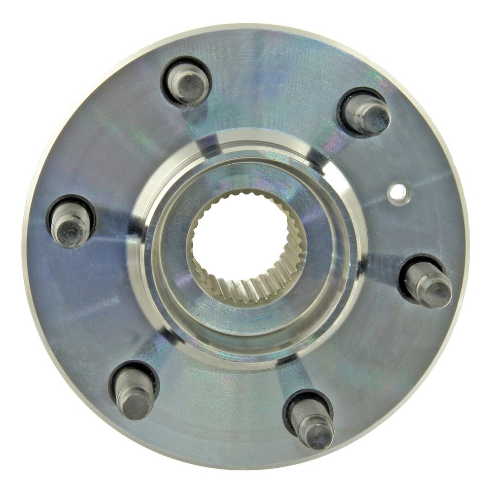Note: 3 Bolt Mounting Flange - Brake Code 1ZF 2009 For Pontiac Montana SV6 Front Wheel Bearing and Hub Assembly x 1