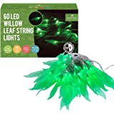 AFfeco String Bright White Solar Powered Crystal Bubble,Garden Path Lights Stakes for Patio Walkway Lawn
