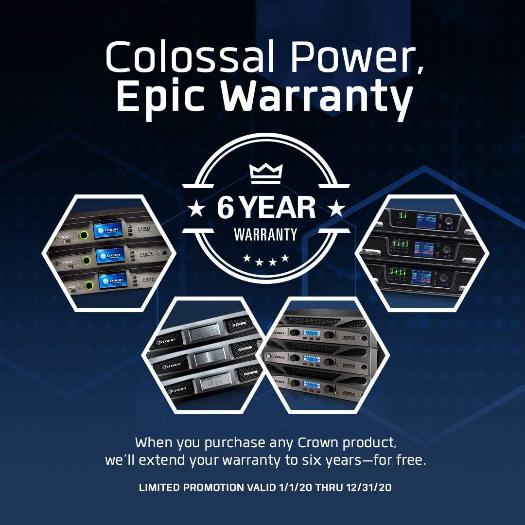 Crown Xls1502 Two Channel 525 Watt At 4w Power Amplifier Musical Instruments Amazon Com