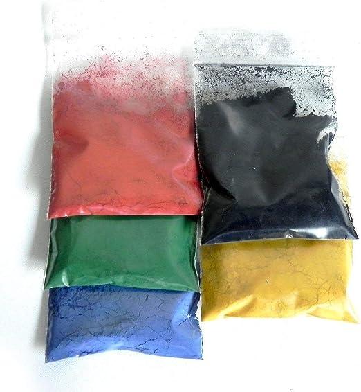 ALEA Mosaic - Juego de pigmentos de color para mortero, lechada y hormigón