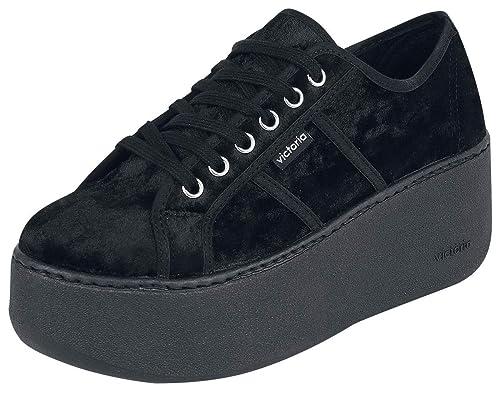 Chaussures Victoria Semelles À Noir Baskets Amazon Eu36 Compensées xvvqwPC