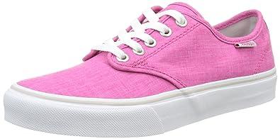 4432f2303f0556 Vans Women s Wm Camden Stripe Low-Top Sneakers  Amazon.co.uk  Shoes ...