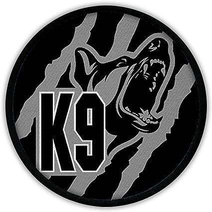 Patch/parche – K9 Negro Gris Perros staffel Policía del Ejército Alemán Pastor Alemán perro DSH Uniforme de camuflaje Uso droge perro # 16885: Amazon.es: Hogar