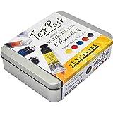 Sennelier French Artist l'Aquarelle Watercolor Test Pack - Set of 5