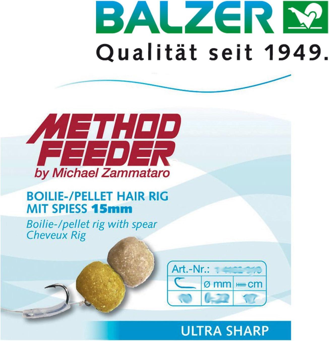Owner Method-Feeder Vorfachhaken mit Speer Gr.12