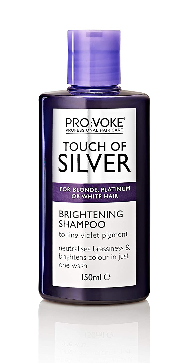 the latest dae81 cb47d PRO VOKE Touch of Silver Brightening Shampoo 150ml  Amazon.co.uk  Beauty