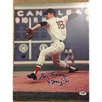 $91 » Jim Lonborg Autographed Signed Cy 67 Autograph Auto 11x14 Photo Picture Boston Red Sox PSA