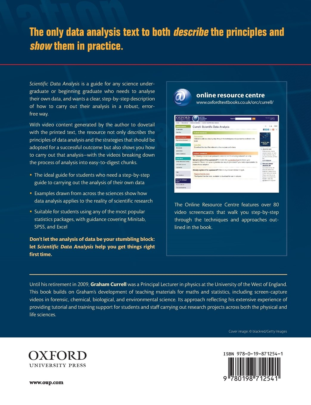 Scientific Data Analysis by Oxford University Press