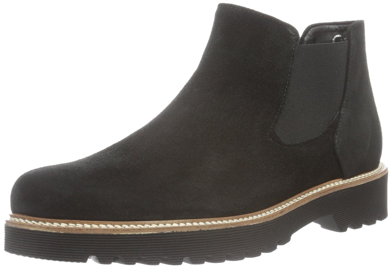 Gabor Shoes Comfort Sport, Botas Chelsea para Mujer Negro (Schwarz S.s/C)