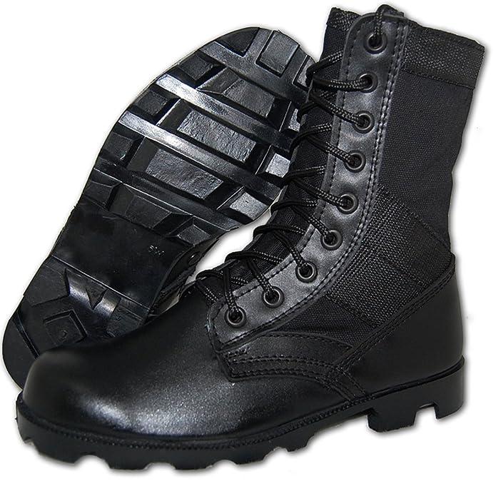 SHOE ARTISTS COMBAT Jungle Boot Men in Black