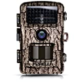 "Amazon Price History for:Foxelli Trail Camera – 12MP 1080P Full HD Wildlife Scouting Hunting Camera with Motion Activated Night Vision, 120° Wide Angle Lens, 42 No Glow IR LEDs and 2.4"" LCD screen, IP66 Waterproof Game Camera"