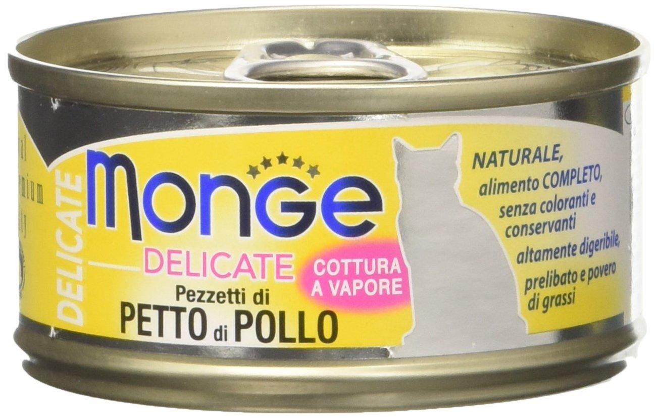 Monge Cat Delicate Petto di Pollo 80 gr