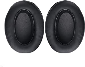VEVER Ear Pads Earpuds Ear Cushions Cover for Brainwavz HM5 HM 5 Headphones (with VEVER Logo Package) (Black)