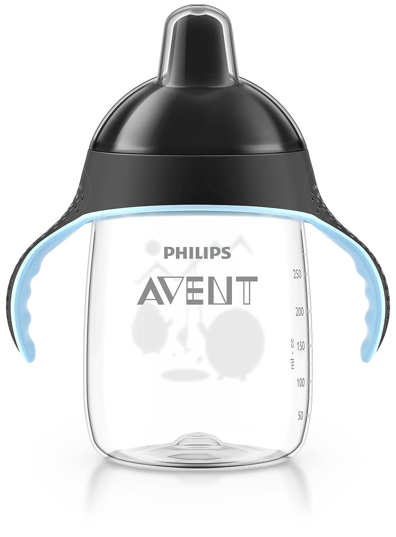 Black Philips AVENT Spout Cup SCF755//13 Sip no drip 12 oz//340 ml 18m