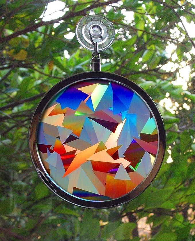 Rainbow Color Sun Catcher Lotus Sun Catcher Sun Catcher Chakra Sun Catcher Garden Decor Window Jewelry Yard Art Window Mobile