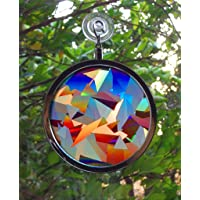 Rainbow Symphony Suncatcher - Cristal Arcoiris Ventana Sun