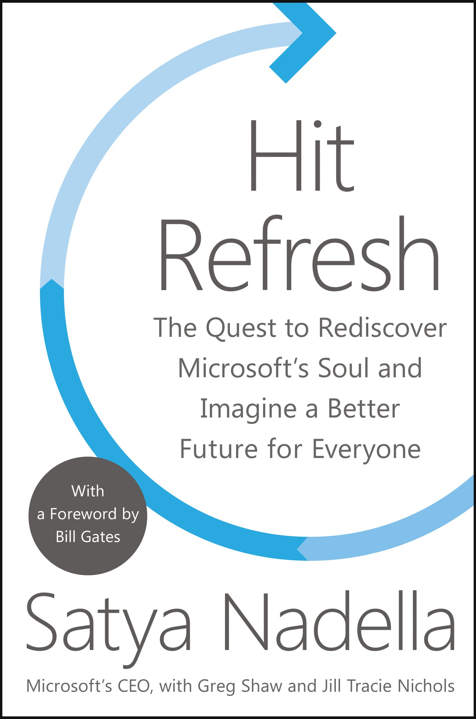 Hit Refresh  The Quest To Rediscover Microsoft's Soul And Imagine A Better Future For Everyone  English Edition