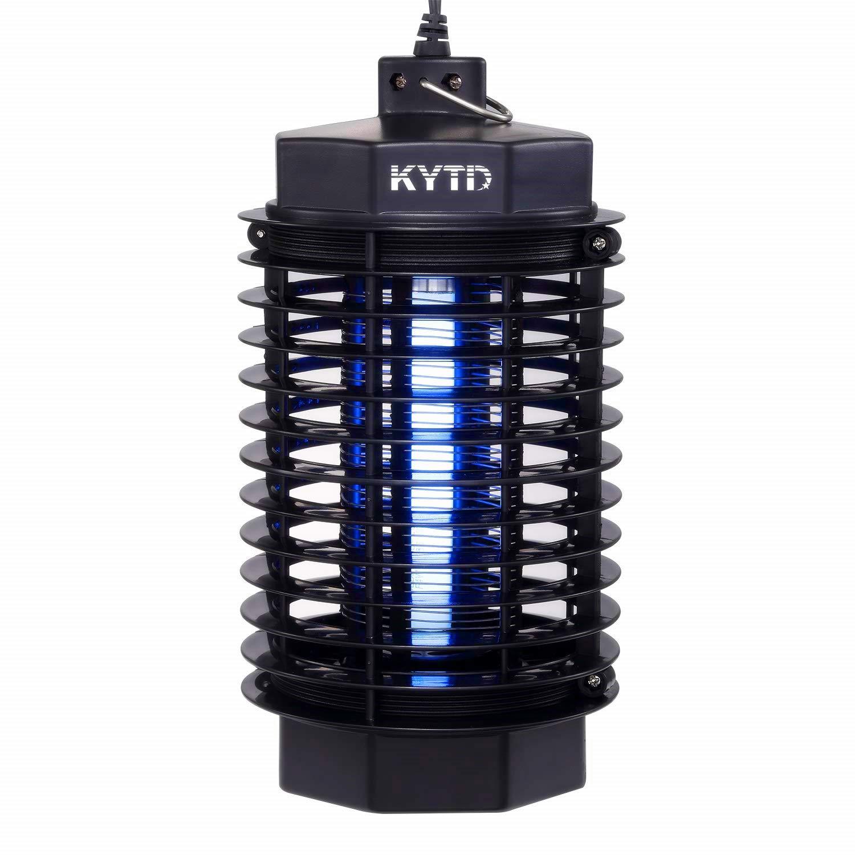 KYTD Matainsectos El/éctrico UV L/ámpara Anti Mosquitos contra Mosquitos L/ámpara de Interior y Jardin para Mata Mosquitos Polillas Insectos Moscas
